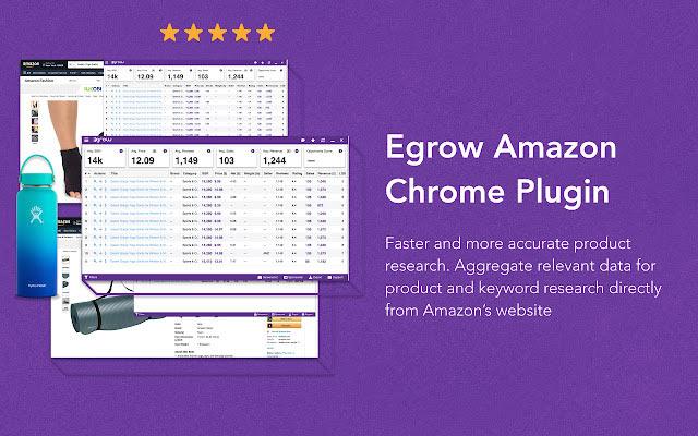 Egrow.io Amazon Scout Extension插件使用